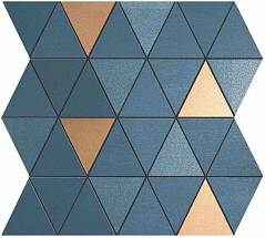 Mek Blue Mosaico Diamond Gold Wall (9MDU) Керамическая плитка