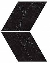 Marvel Nero Marquina Chevron Lappato (AS1W) керамогранит
